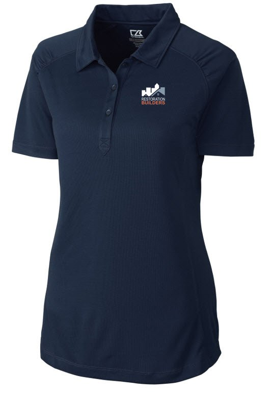 Female Polo Navy Blue