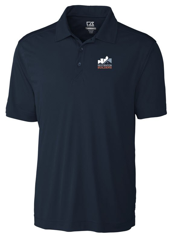 Male Polo Navy Blue